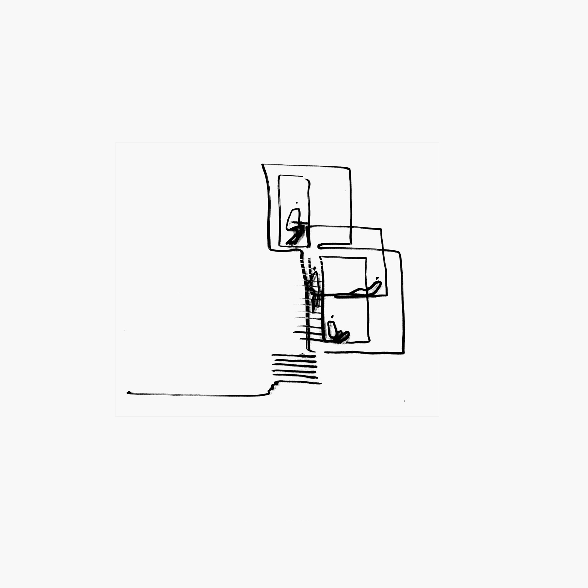 Ja Architecture Studio Basketball Hoop Diagram The Zoning By Law And Construction Challenge Was To Insert A New Structure Between Two Preserved Side Walls Of An Old Bungalow Maintain